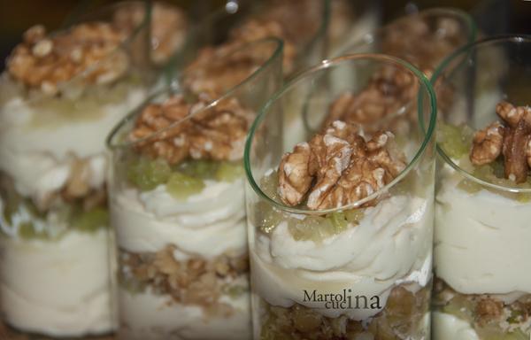 Mousse di gorgonzola, sedano e noci | Martolina in cucina