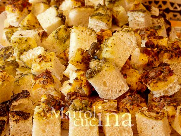 focaccia con fiocchi di patate