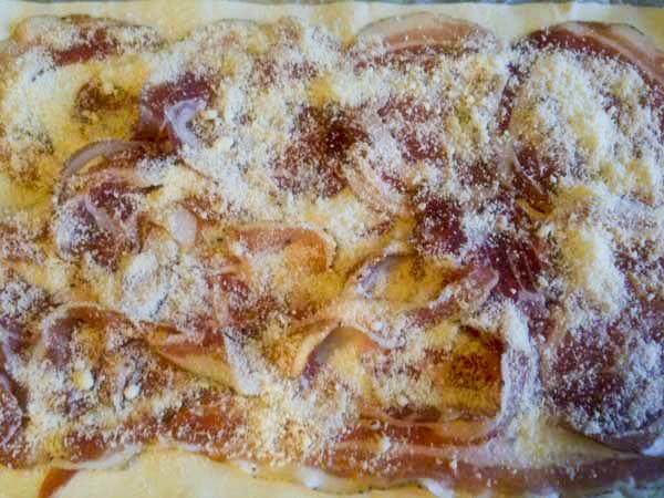 Chiocciole con pancetta e pecorino