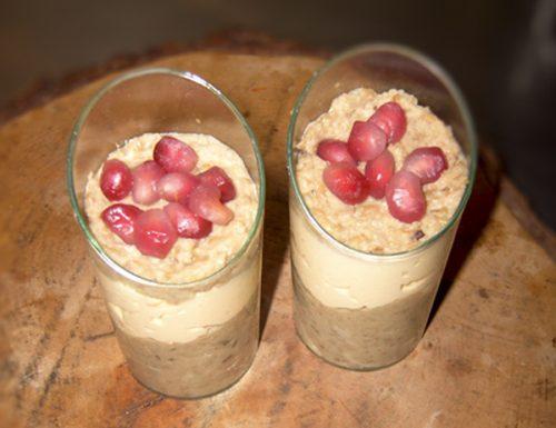 Bicchierini di mousse di lenticchie e salmone