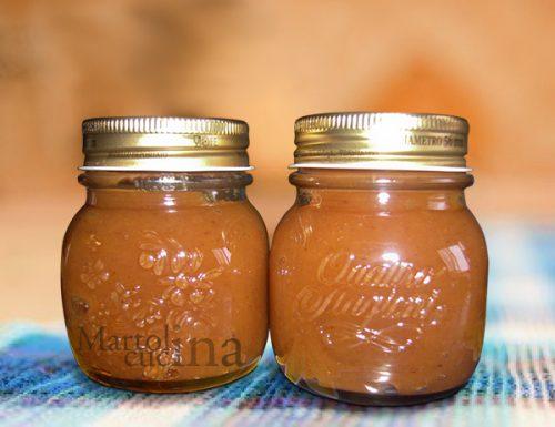Confettura di cachi e mele in microonde