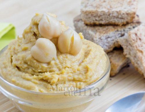 Hummus di ceci, ricetta facile e veloce