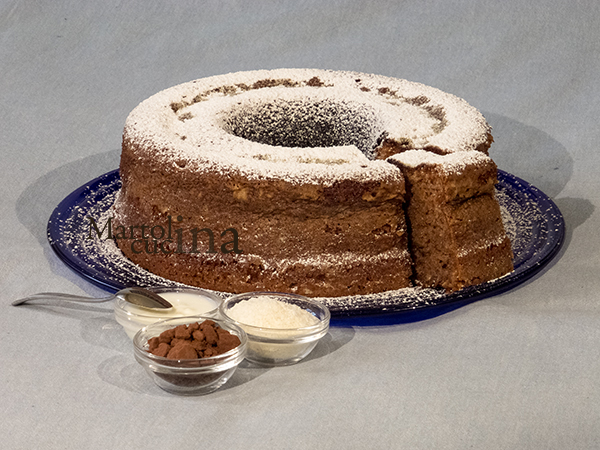 Torta cocco e ciocco Versilia