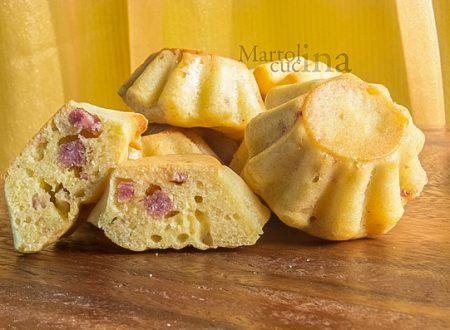 Muffin salati con farina di polenta
