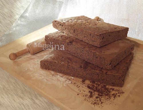 Pan di spagna al cacao, ricetta facile, infallibile