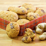 Biscotti velocissimi al burro di arachidi e cioccolato