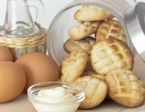 Biscotti con la maionese, i più buoni del mondo
