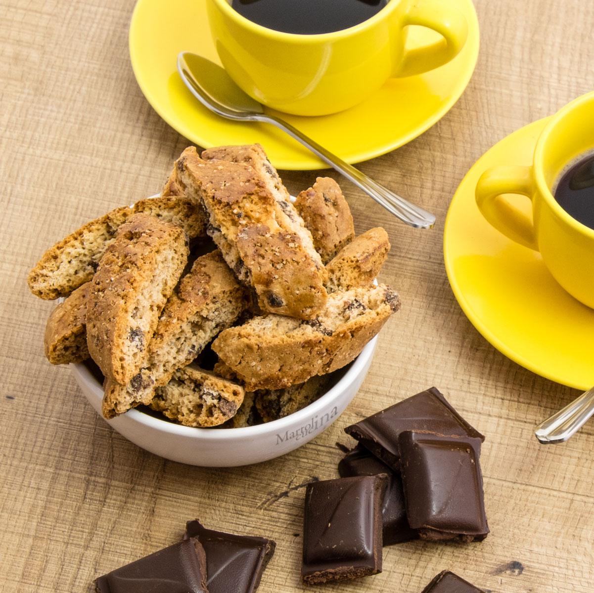 Cantuccini al cioccolato