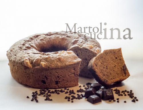 Dolce al cioccolato e meringhe nel fornetto Versilia