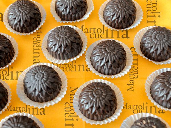 Cioccolatini alla vaniglia e granella