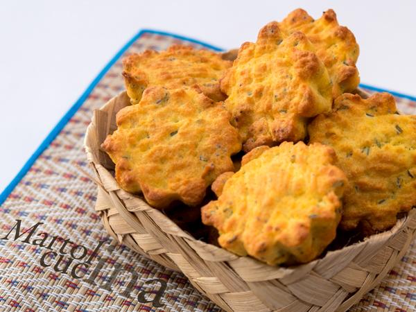 Muffin salati all'olio con salame e finocchietto