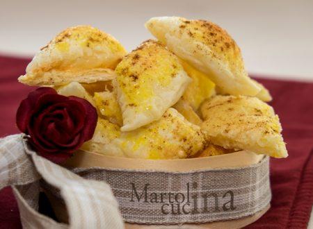 Salatini paprika e formaggio (versione tradizionale e microonde)
