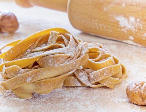 Tagliatelle di castagne, ricetta facile