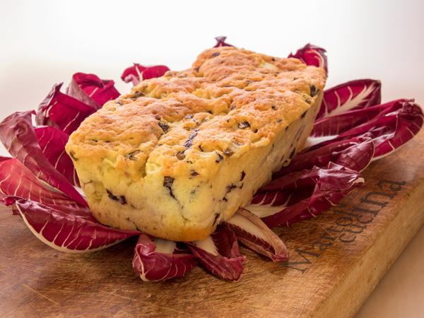Plumcake 7 vasetti con radicchio pecorino e mele in - Forno combinato microonde e tradizionale ...