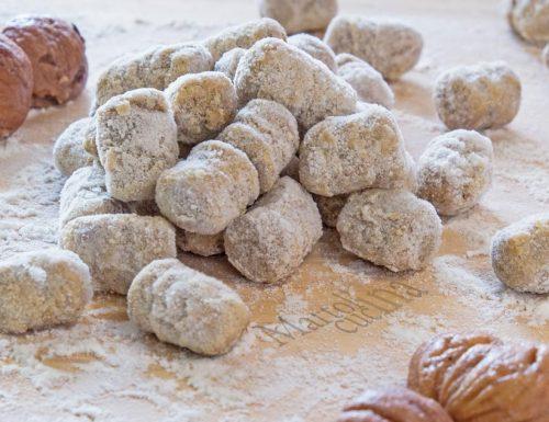 Gnocchi di castagne facilissimi