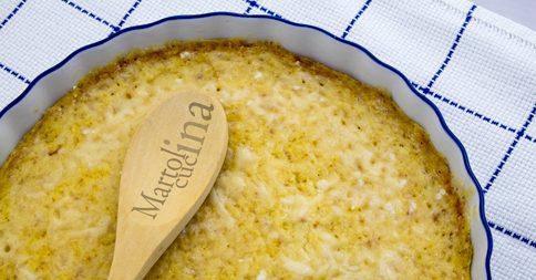 Tortino di polenta saporito