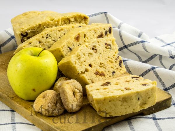 Plumcake al passito, mele, fichi e datteri_600x450