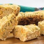 Ciambella con carote e zucchine senza uova e burro