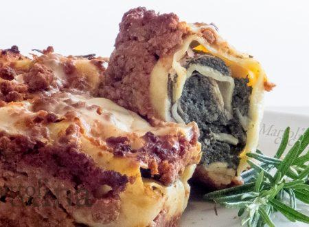 Cannelloni di spinaci al ragù