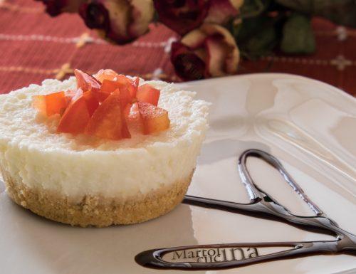 Cheesecake salati con bufala