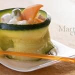 Rotolini di zucchine finger food
