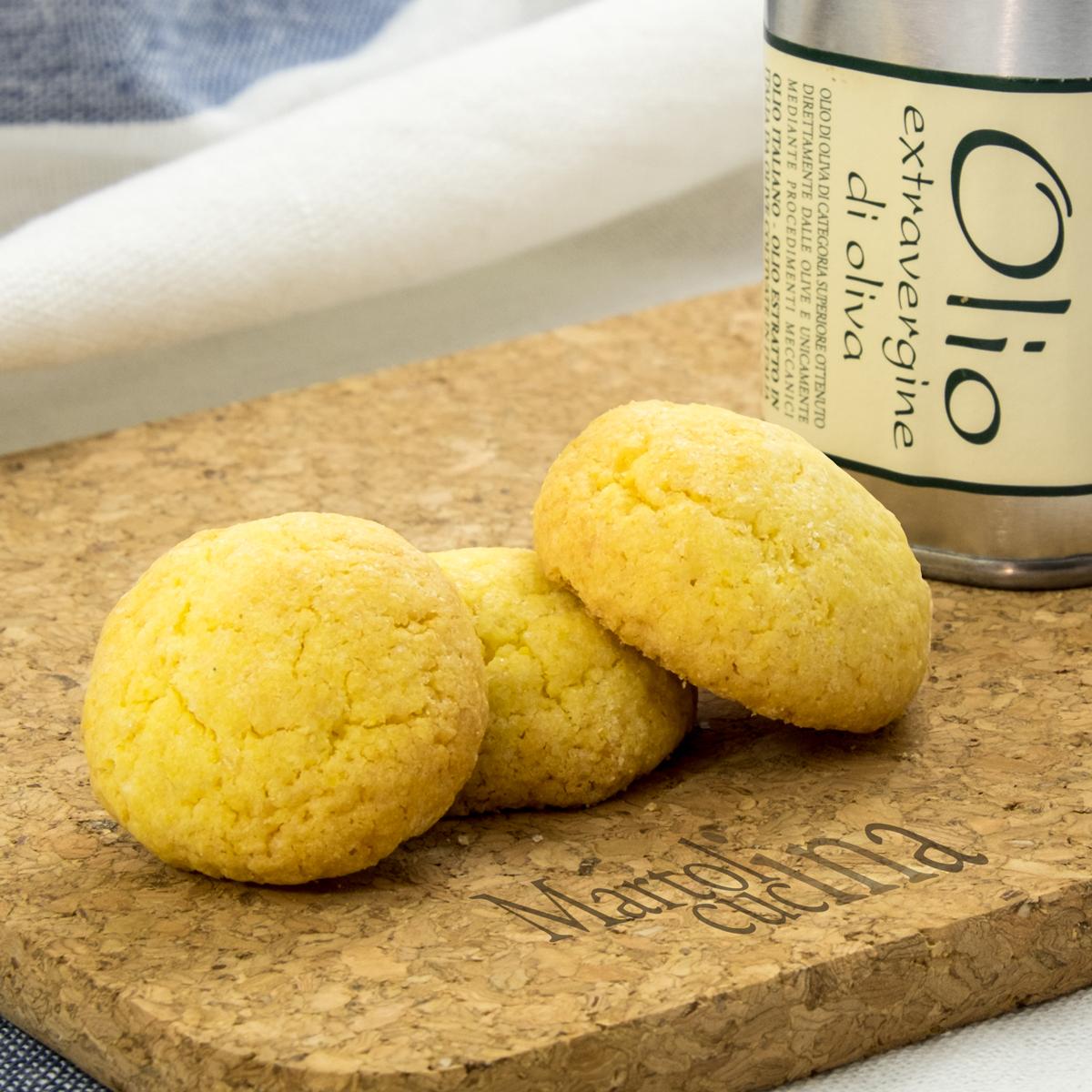 Biscotti con olio di oliva