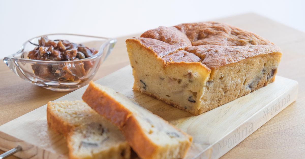 Plumcake 7 vasetti con caponata ricetta facile - Forno tradizionale e microonde insieme ...