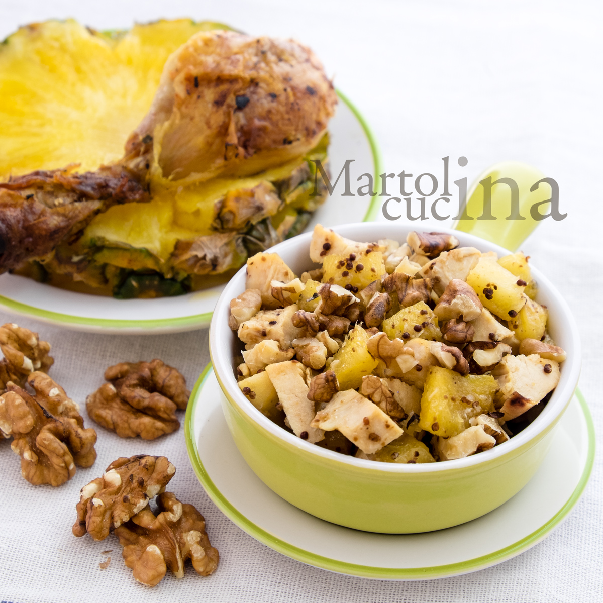 Insalata di pollo light con ananas e noci_1200x1200