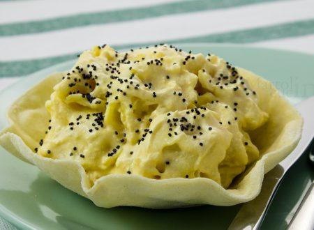 Tortellini al salmone e yogurt