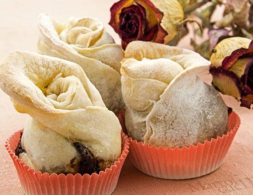 Rose di pane alla Nutella