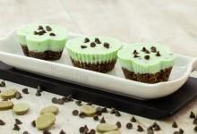 Cheesecake menta cioccolato con ingrediente segreto