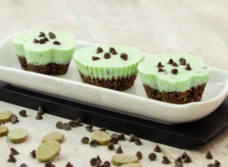 Cheesecake menta cioccolato con ingrediente segreto