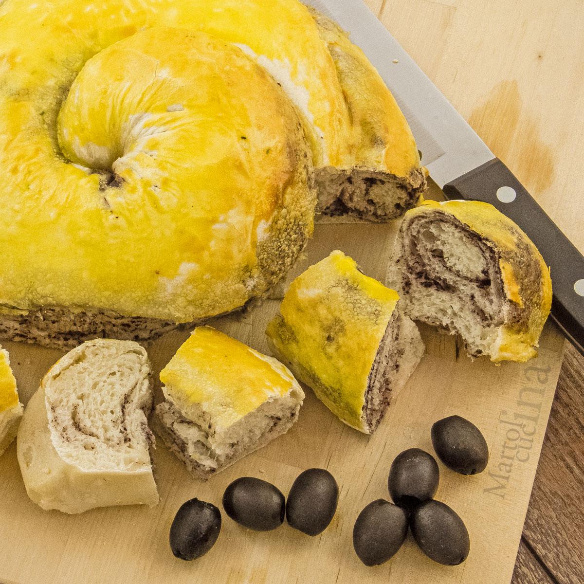 Ciambella alle olive