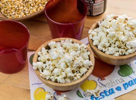 Popcorn in microonde con passo passo