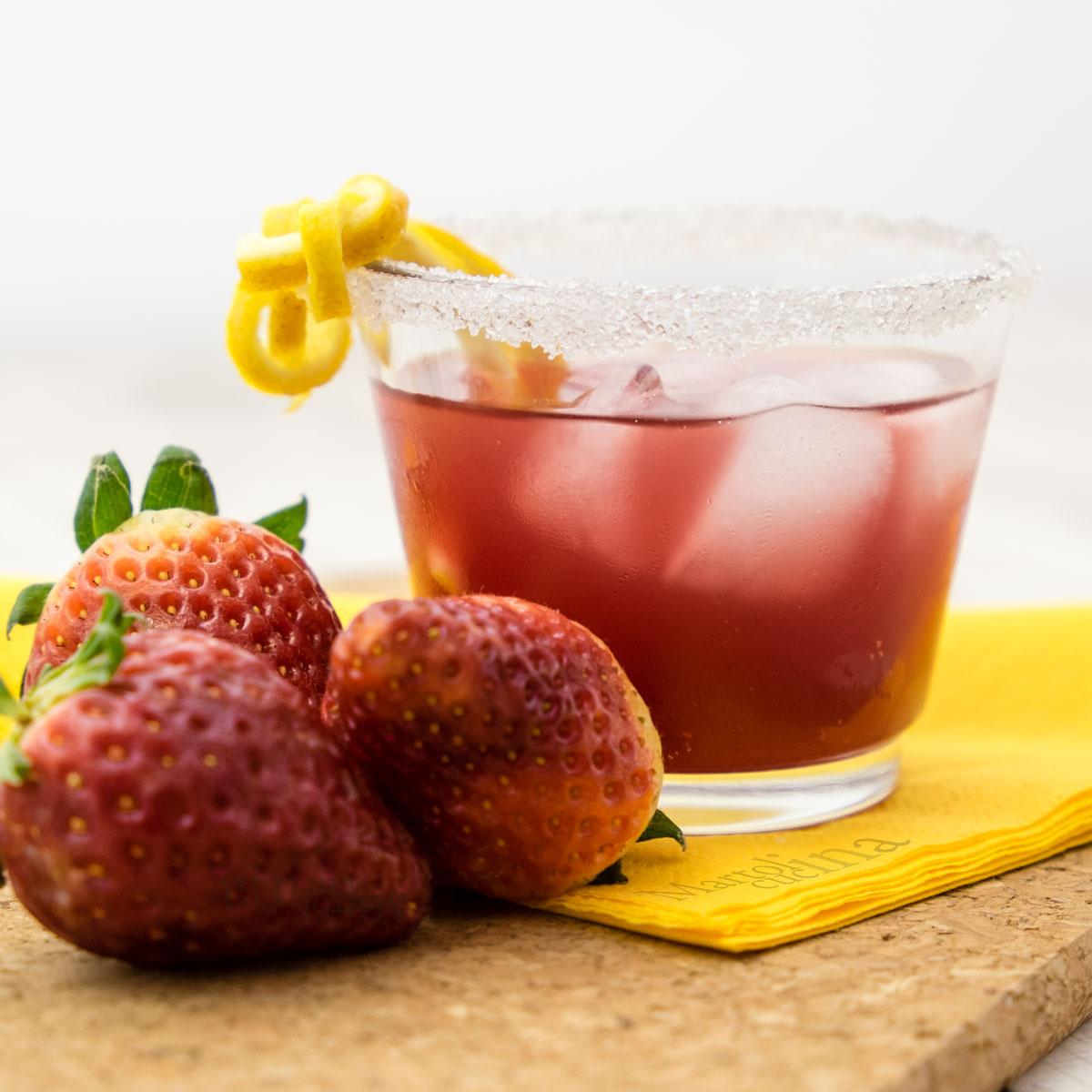 Aperitivo alle fragole