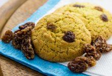 Biscotti facili con uvetta