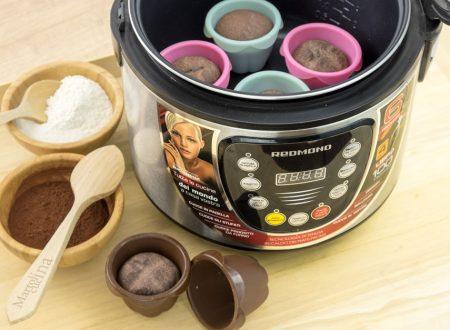 Muffin di panbrioche al cioccolato