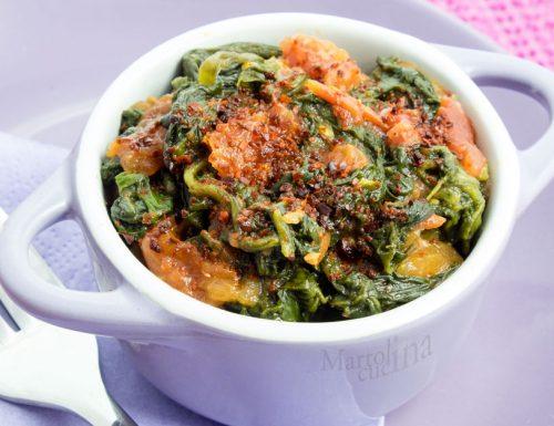 Spinaci piccanti