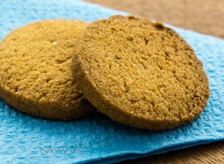 Biscotti semplici al caffè