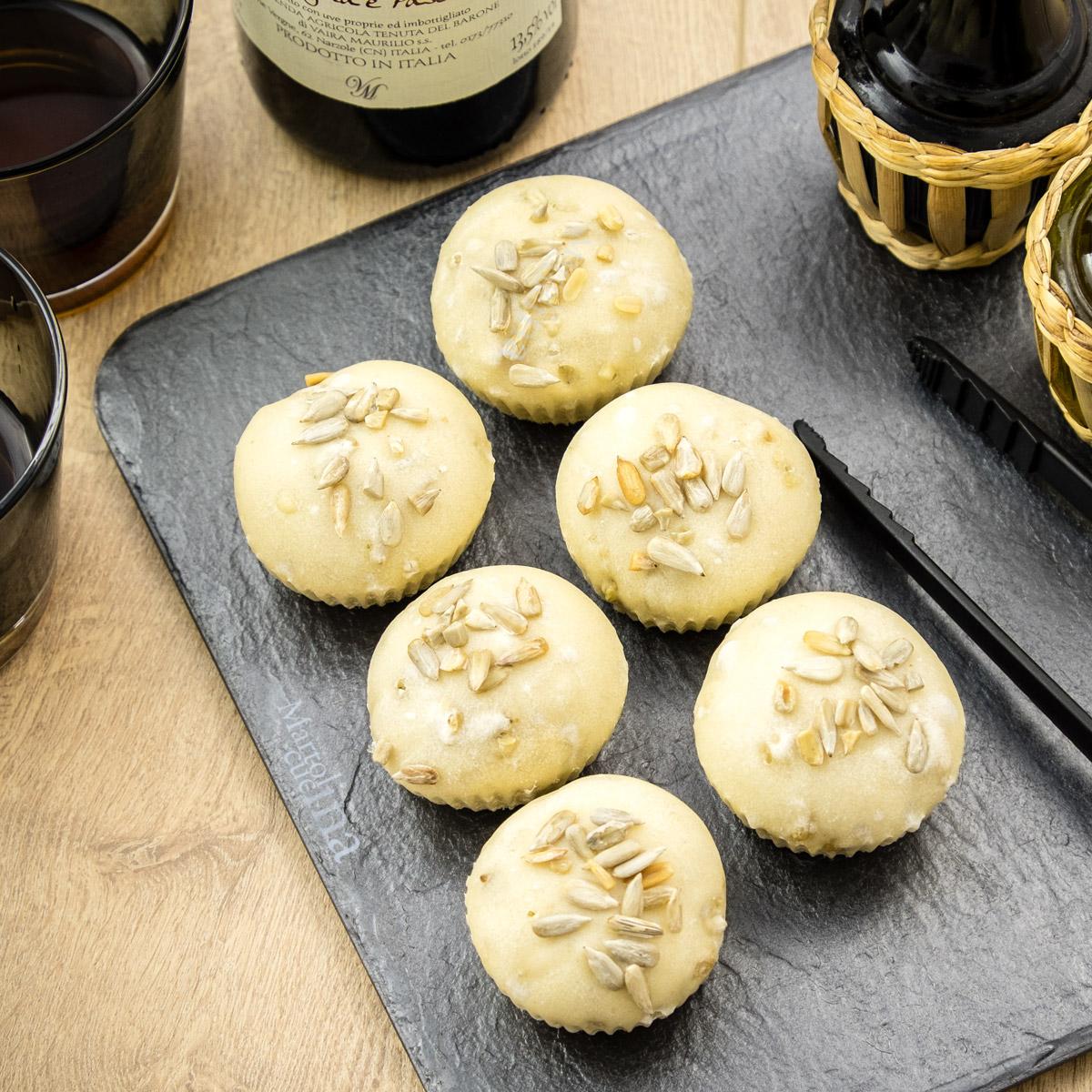 Muffin-pane-semi-girasole