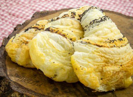 Sfogliatine salate al formaggio