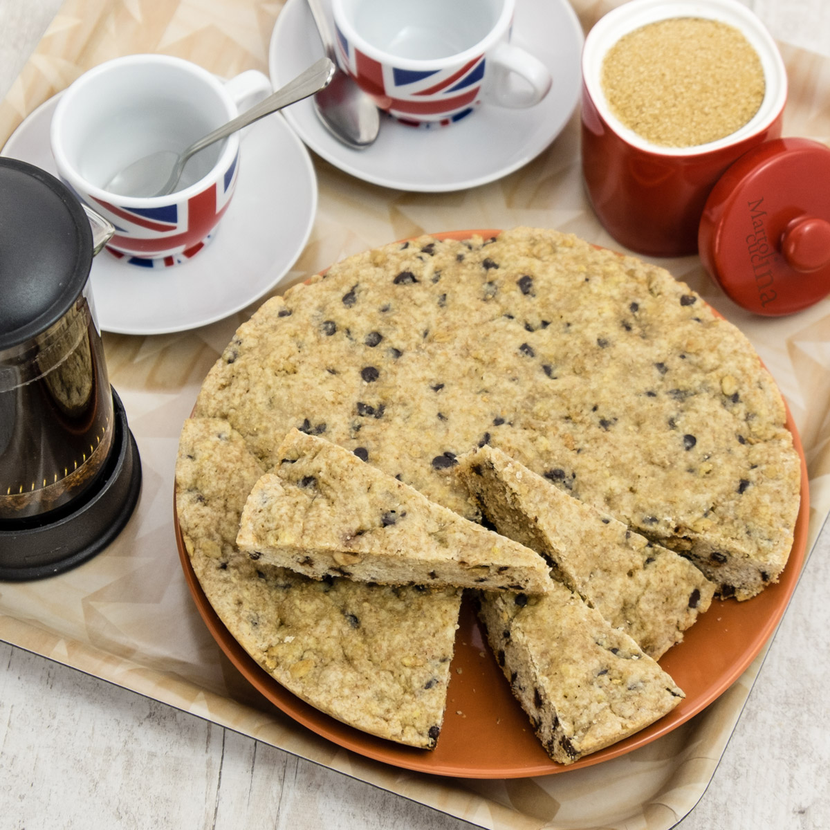 Torta cookies con esubero