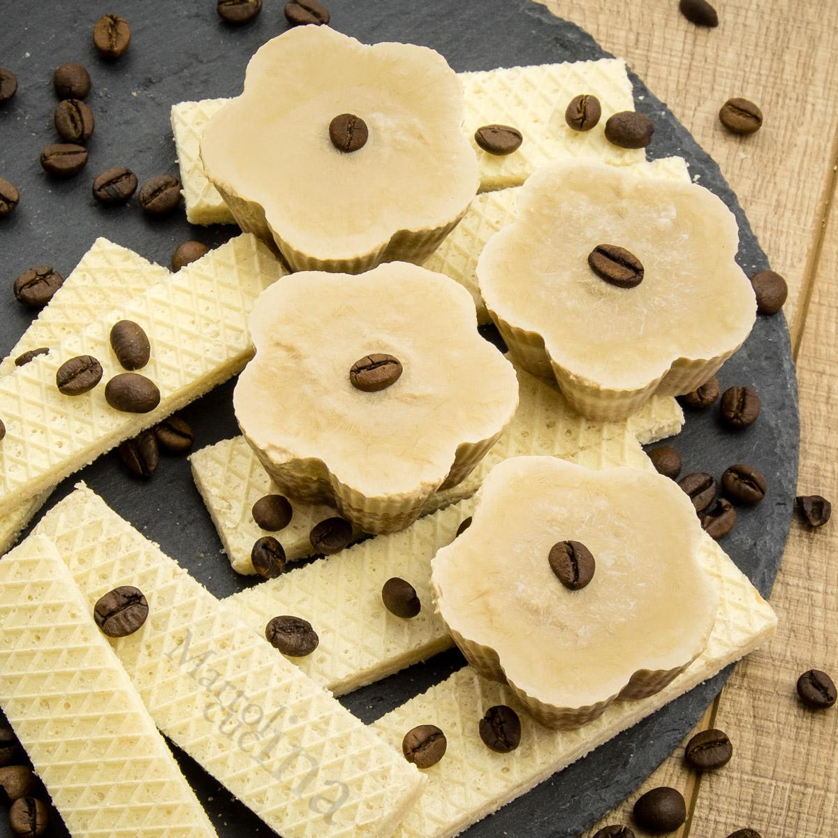 Cheesecake al caffè con ricotta