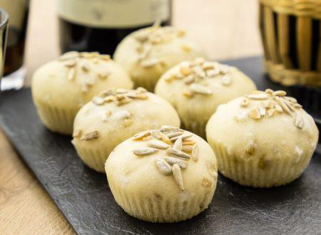 Muffin di pane ai semi di girasole, ricetta facile