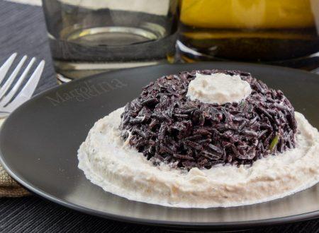 Baccalà mantecato con riso pilaf