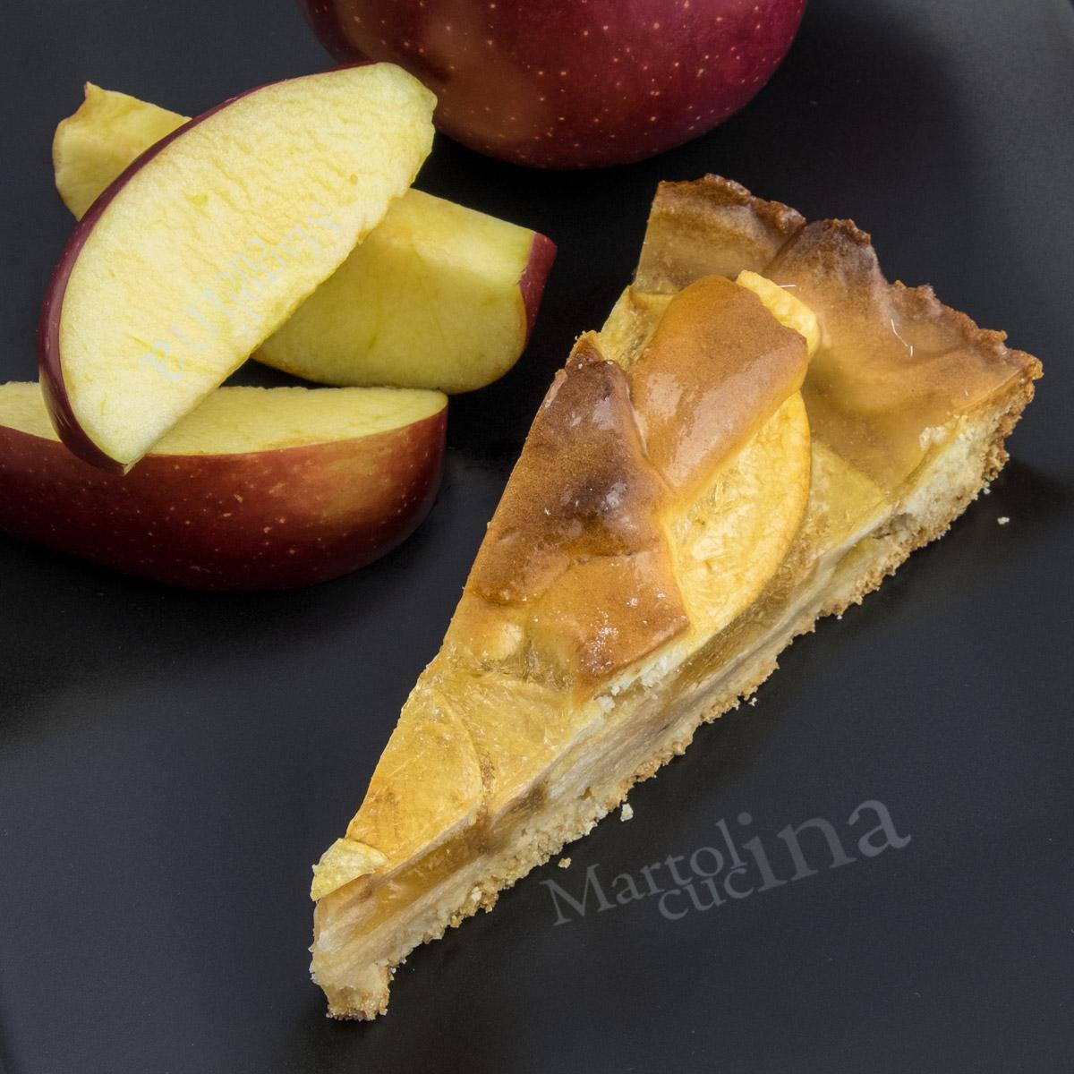 Crostata di mele ricetta della nonna dolce facile for Crostata di mele
