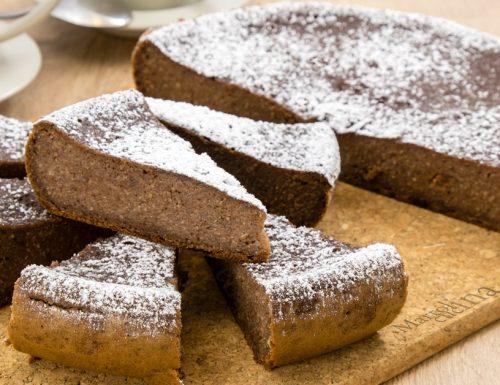 Dolce di pane al cacao