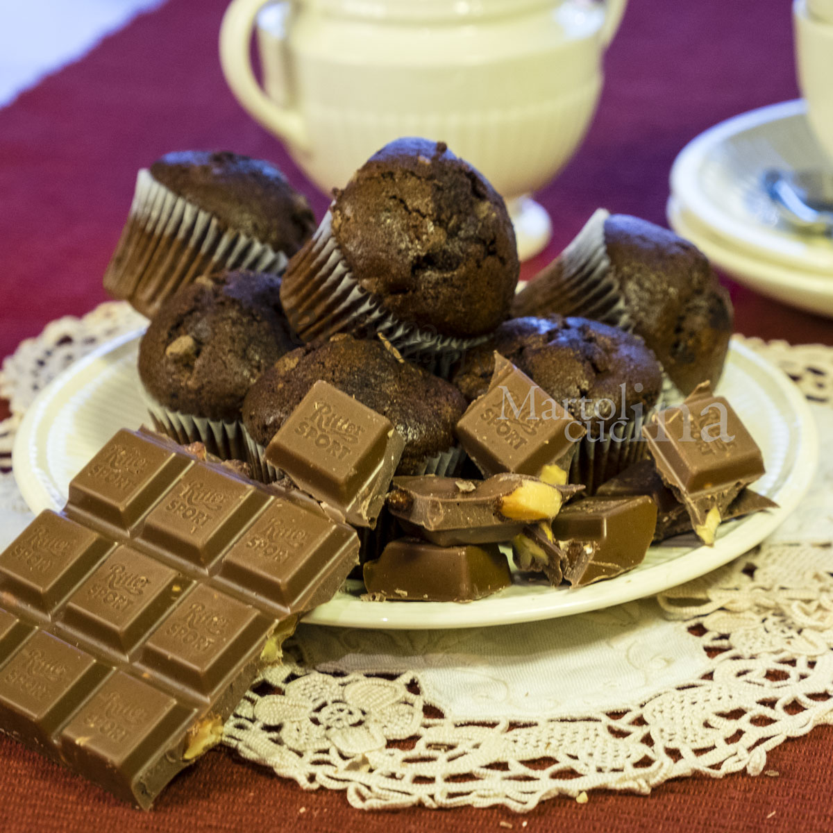Muffin al cioccolato speciali