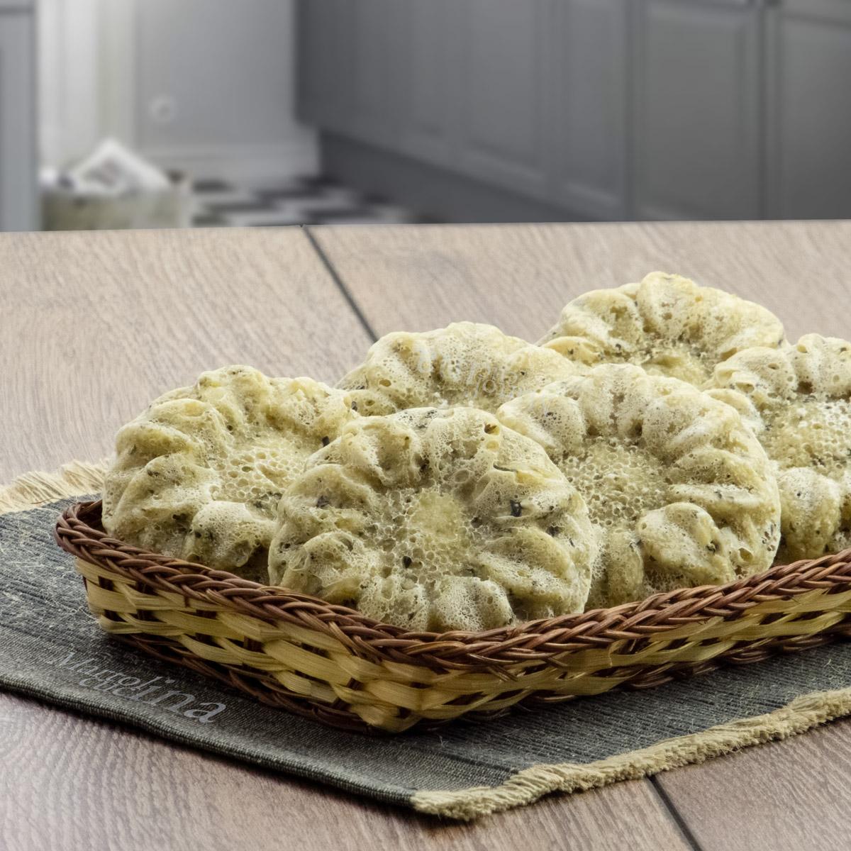 Muffin di pane ai semi di zucca