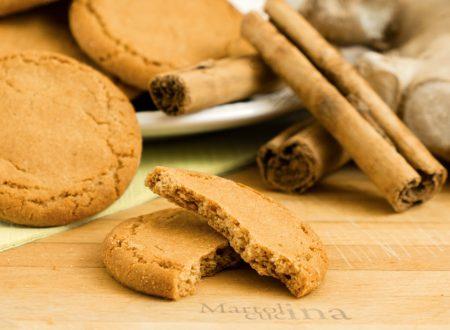 Biscotti zenzero e cannella, ricetta facile